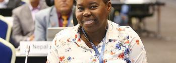 Odacy Davis at COP 14
